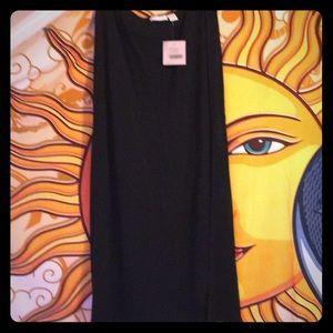 J Jill long black skirt. NWT